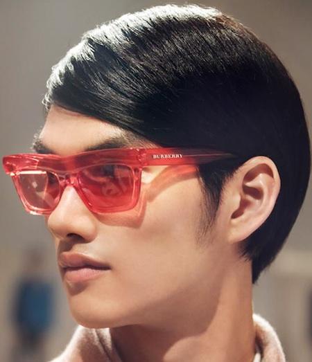 burberry men glasses z6fd  Burberry Mens Sunglasses or women's for Spring Summer picks up on a pixel  theme, calling it Wave Dot eyewear Definitely different eyewear for men