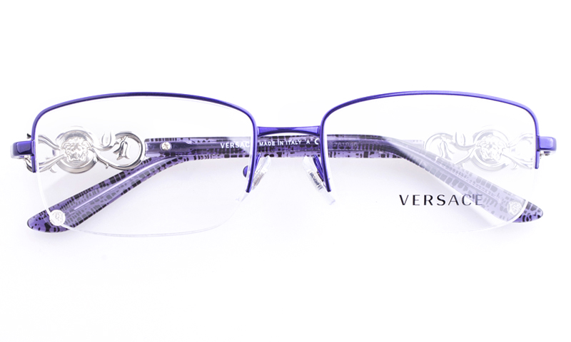 Versace Sunglasses Purple  versace stainless steel womens square full rim optical glasses
