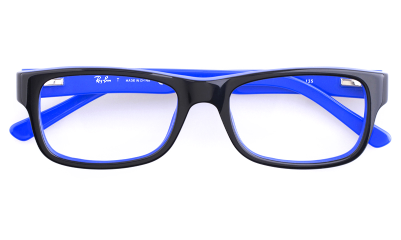 ray ban blue glasses  Black And Blue Ray Bans - Ficts