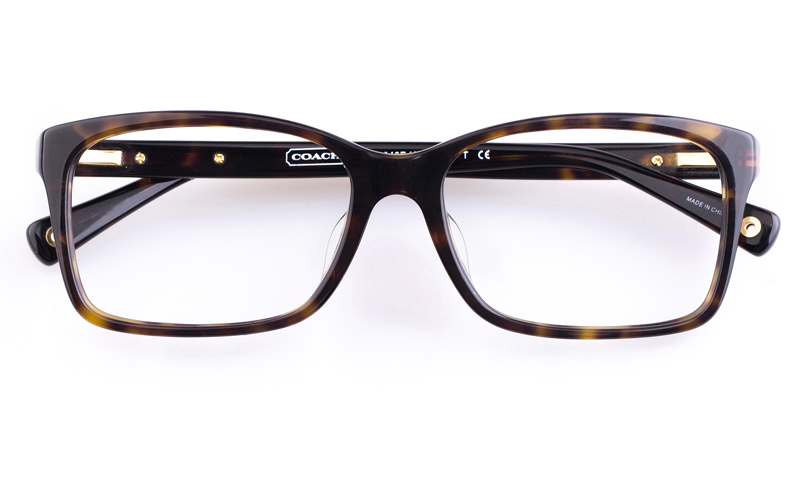 Coach Prescription Sunglasses  coach hc6043f acetate mens square full rim optical glasses dime