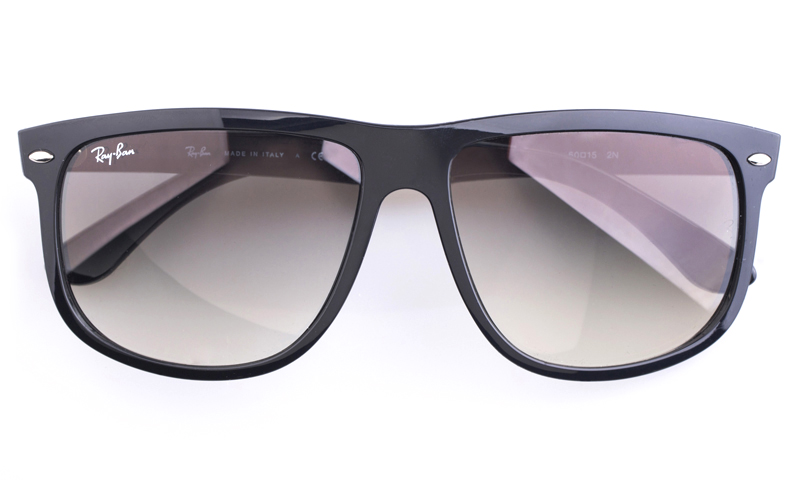 ray ban glass or polycarbonate  ray ban rb4147 polycarbonate(pc) mens square full rim sunglasses(black(601/32))