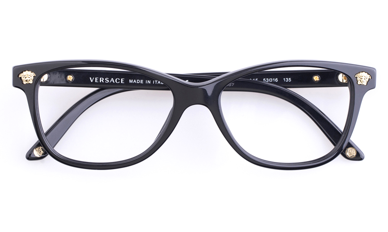 since then versace have established refined eyewear of many styles and colors innovative and unique designs are what represent versace designer glasses