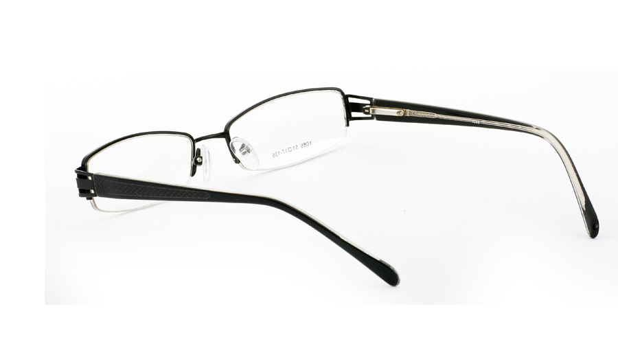 Vista First 1086 Stainless Steel/ZYL Mens&Womens Half Rim Optical Glasses