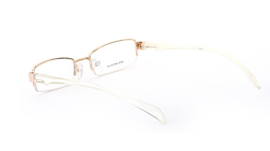 Vista First 1079 Titanium Memory Mens&Womens Half Rim Optical Glasses