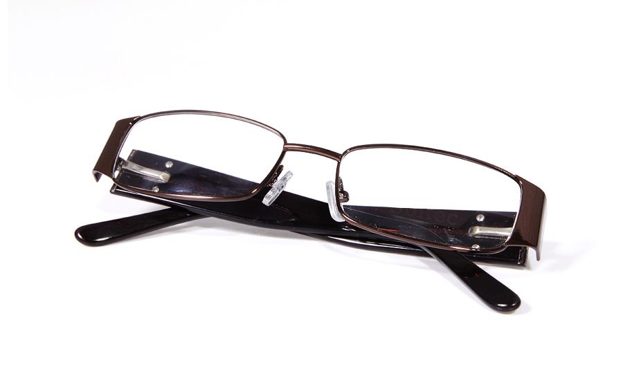 Vista First 1606 Stainless Steel/ZYL Full Rim Mens Optical Glasses