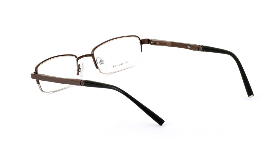 Vista First 1040 Aluminum Half Rim Mens Optical Glasses