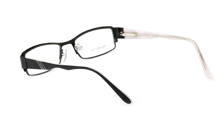 Vista First 1080 Stainless Steel/ZYL Full Rim Mens Optical Glasses
