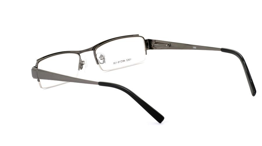 Vista First 1052 Stainless Steel/ZYL Mens&Womens Half Rim Optical Glasses
