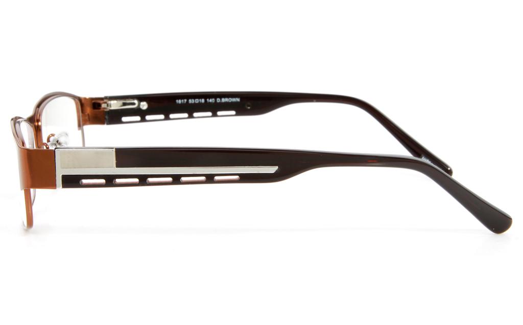 Vista First 1617 Stainless Steel Full Rim Mens Optical Glasses