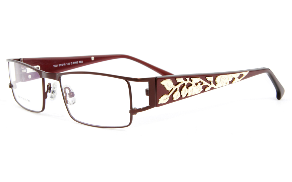 Vista First 1621 Stainless Steel Full Rim Womens Optical Glasses