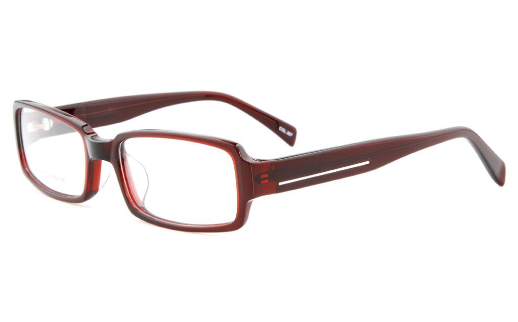 Acetate(ZYL) Mens&Womens Full Rim Square Optical Glasses