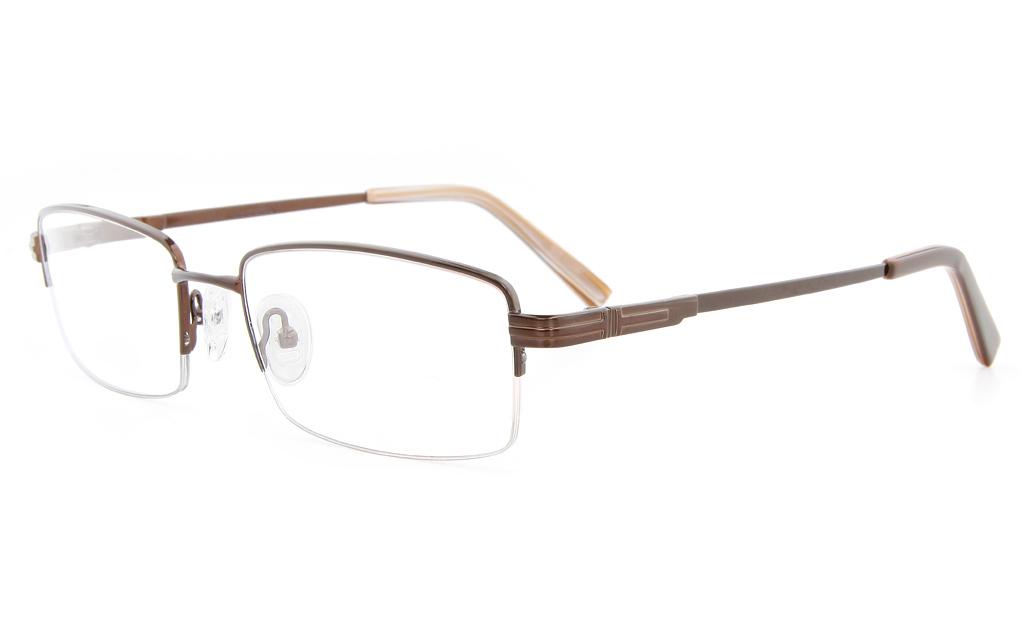 77869b2416b Semi Rimless Titanium Glasses