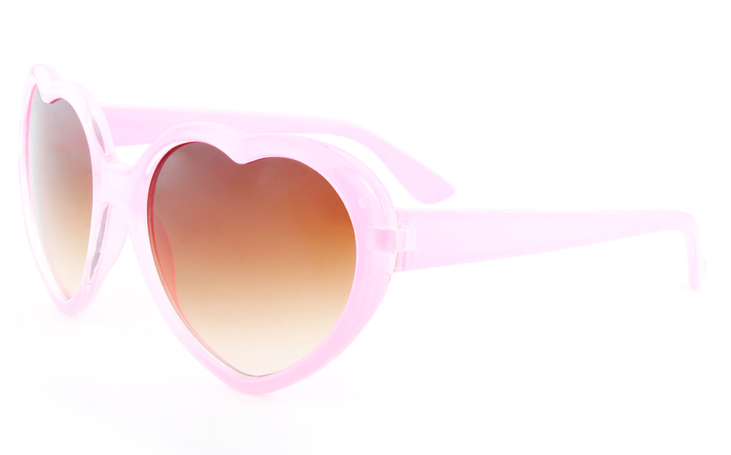 Vista Sport 841 Propionate Kids Full Rim Heart-Shaped Sunglasses