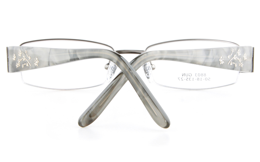 Semi Rimless Glasses Frames | Louisiana Bucket Brigade