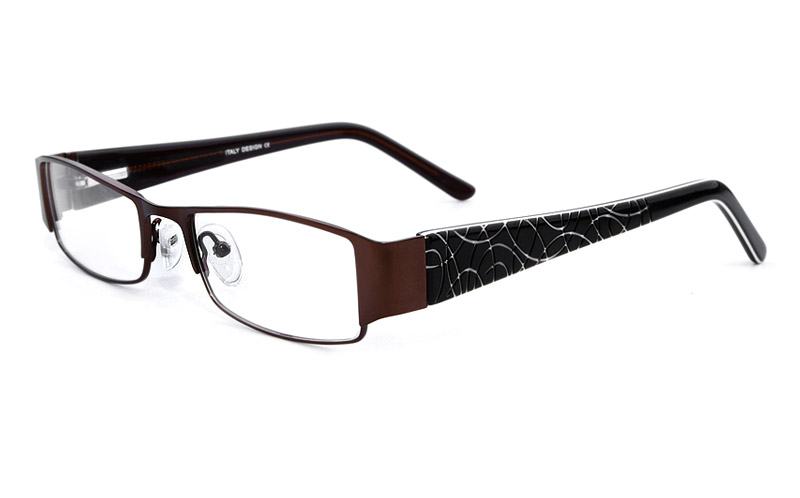 Vista First 1072 Stainless Steel Mens&Womens Full Rim Optical Glasses