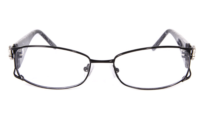 Vista First 8802 Stainless Steel/ZYL Full Rim Womens Optical Glasses