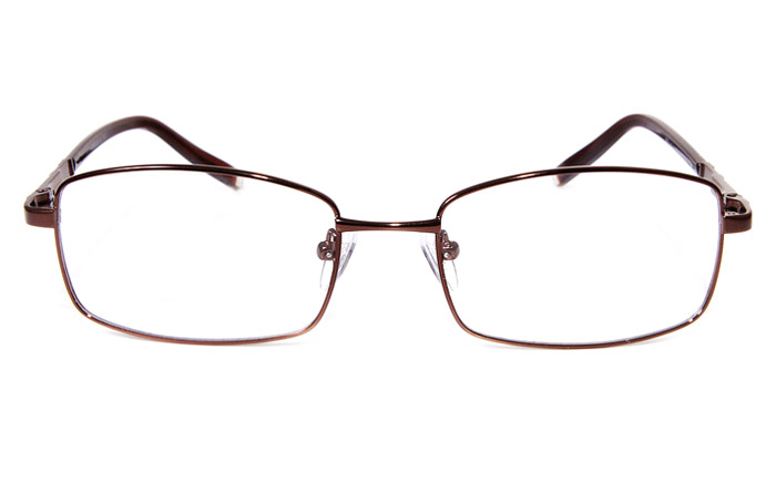 Poesia eso6609 Stainless Steel Mens&Womens Full Rim Optical Glasses