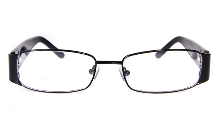 Vista First 1606 Stainless Steel/ZYL Full Rim Mens Optical Glasses
