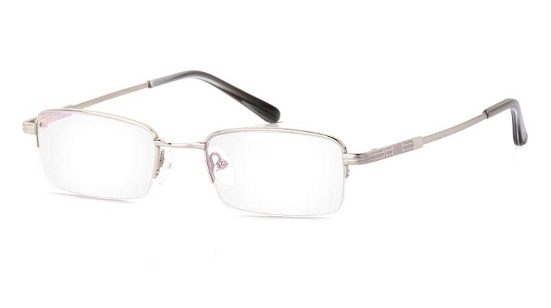 Vista First 2013 Titanium Memory Half Rim Mens Optical Glasses