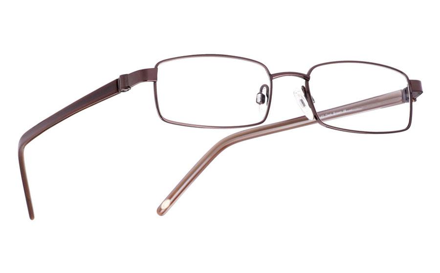 Vista First 1004 Stainless Steel/ZYL Full Rim Mens Optical Glasses