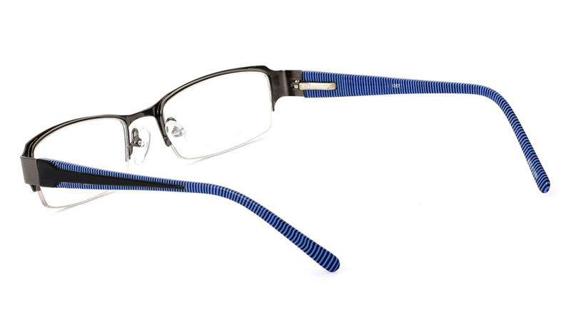 Vista First 1057 Monel Mens&Womens Half Rim Optical Glasses