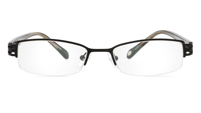 Vista First 1085 Stainless Steel/ZYL Mens&Womens Half Rim Optical Glasses