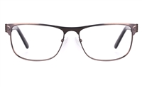 Poesia 6649 Stainless Steel Mens Full Rim Optical Glasses