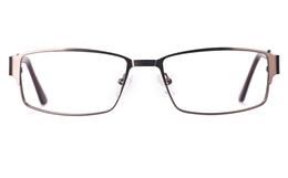 Poesia 6650 Stainless Steel Mens Full Rim Optical Glasses