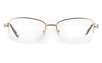 Vista First 8908 Stainless steel/ZYL Womens Semi-rimless Optical Glasses