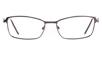Poesia 6052 Stainless steel/PC Womens Full Rim Optical Glasses