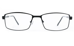 Poesia 6676 Stainless Steel Mens Full Rim Optical Glasses for Fashion,Classic,Nose Pads Bifocals