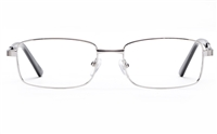 Poesia 6663 Stainless Steel Mens & Womens Full Rim Optical Glasses