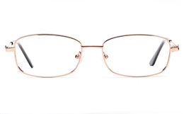 Poesia 6060 Stainless Steel Womens Full Rim Optical Glasses for Fashion,Classic,Nose Pads Bifocals