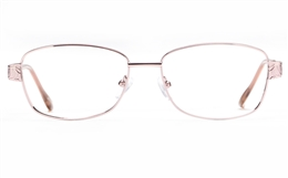 Poesia 6659 Stainless Steel Womens Full Rim Optical Glasses for Fashion,Classic,Nose Pads Bifocals