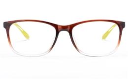 Poesia 3129 Polycarbonate(PC) Womens Full Rim Optical Glasses
