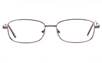 Poesia 6060 Stainless Steel Womens Full Rim Optical Glasses