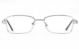 Poesia 6059 Stainless Steel Womens Full Rim Optical Glasses for Fashion,Classic,Nose Pads Bifocals