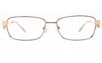 Vista First 8827 Stainless steel/ZYL Womens Full Rim Optical Glasses