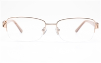 Vista First 8826 Stainless steel/ZYL Womens Semi-rimless Optical Glasses