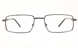 Poesia 6068 Stainless Steel Mens Full Rim Optical Glasses for Fashion,Classic,Nose Pads Bifocals