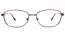 Poesia 6671 Stainless Steel Womens Full Rim Optical Glasses