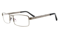 Poesia 6023 Stainless Steel Mens&Womens Full Rim Optical Glasses