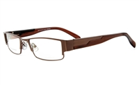 Poesia 6616 Stainless Steel Mens&Womens Full Rim Optical Glasses