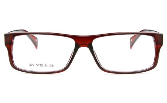 327 Mens&Womens Full Rim Square Optical Glasses