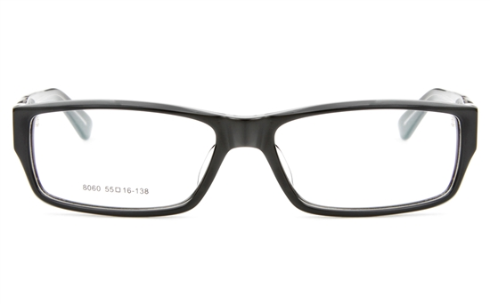 8060 Acetate(ZYL) Mens&Womens Full Rim Square Optical Glasses