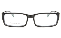 1161 Acetate(ZYL) Mens Womens Full Rim Square Optical Glasses for Fashion,Classic,Party Bifocals