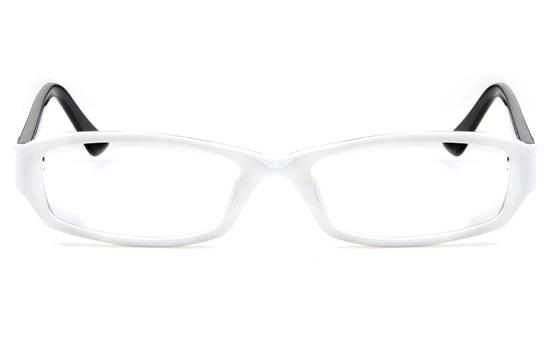 2028 Propionate Womens Full Rim Square Optical Glasses