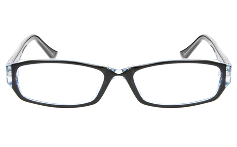 2028 Propionate Womens Full Rim Square Optical Glasses