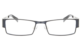 SJ082 Stainless Steel Mens Womens Full Rim Square Optical Glasses for Fashion,Classic,Nose Pads Bifocals
