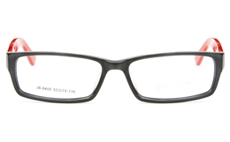 JB8405 Acetate(ZYL) Womens Full Rim Square Optical Glasses for Party,Nose Pads Bifocals